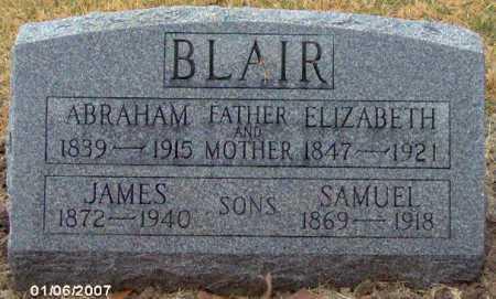 BLAIR, JAMES - Lycoming County, Pennsylvania | JAMES BLAIR - Pennsylvania Gravestone Photos