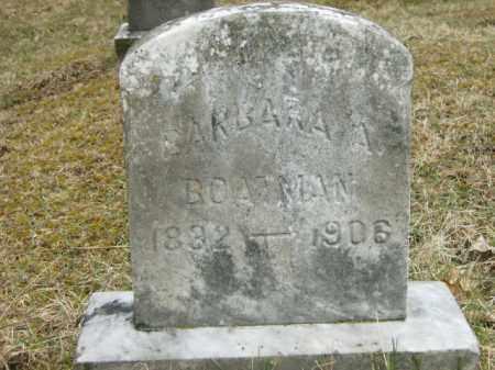 BOATMAN, BARBARA - Lycoming County, Pennsylvania | BARBARA BOATMAN - Pennsylvania Gravestone Photos