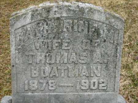 BOATMAN, CATHARINE - Lycoming County, Pennsylvania | CATHARINE BOATMAN - Pennsylvania Gravestone Photos
