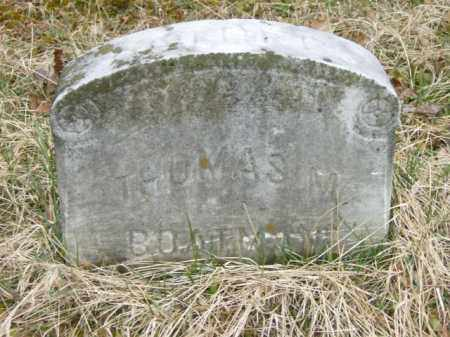 BOATMAN, THOMAS - Lycoming County, Pennsylvania | THOMAS BOATMAN - Pennsylvania Gravestone Photos