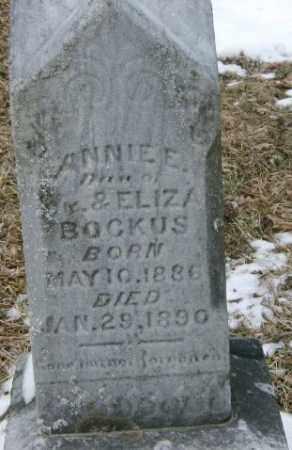 BOCKUS, ANNIE - Lycoming County, Pennsylvania | ANNIE BOCKUS - Pennsylvania Gravestone Photos