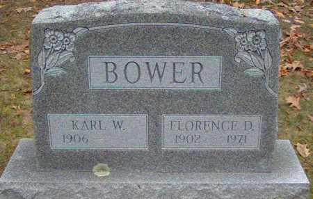 BOWER, FLORENCE - Lycoming County, Pennsylvania | FLORENCE BOWER - Pennsylvania Gravestone Photos