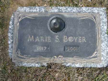 BOYER, MARIE - Lycoming County, Pennsylvania | MARIE BOYER - Pennsylvania Gravestone Photos