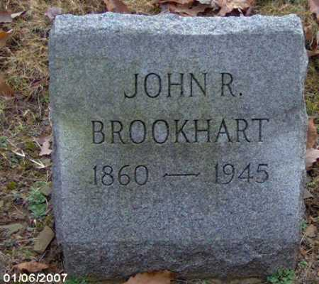 BROOKHART, JOHN R. - Lycoming County, Pennsylvania | JOHN R. BROOKHART - Pennsylvania Gravestone Photos
