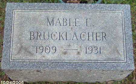 BRUCKLACHER, MABEL - Lycoming County, Pennsylvania   MABEL BRUCKLACHER - Pennsylvania Gravestone Photos