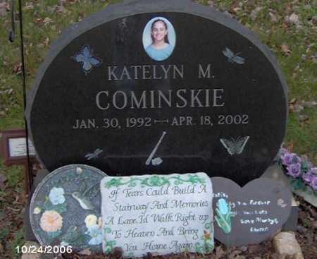 COMINSKIE, KATELYN - Lycoming County, Pennsylvania | KATELYN COMINSKIE - Pennsylvania Gravestone Photos