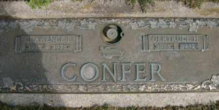CONFER, GERTRUDE - Lycoming County, Pennsylvania | GERTRUDE CONFER - Pennsylvania Gravestone Photos