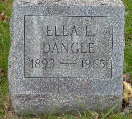 DANGLE, ELLA - Lycoming County, Pennsylvania | ELLA DANGLE - Pennsylvania Gravestone Photos