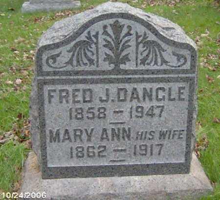 DANGLE, FRED - Lycoming County, Pennsylvania | FRED DANGLE - Pennsylvania Gravestone Photos