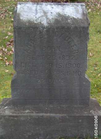 DAULER, ANDREW - Lycoming County, Pennsylvania | ANDREW DAULER - Pennsylvania Gravestone Photos
