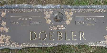 DOEBLER, MAX - Lycoming County, Pennsylvania | MAX DOEBLER - Pennsylvania Gravestone Photos