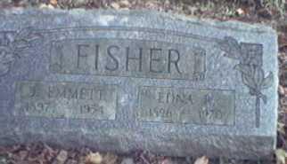 FISHER, EDNA - Lycoming County, Pennsylvania | EDNA FISHER - Pennsylvania Gravestone Photos