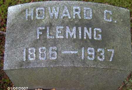 FLEMING, HOWARD C. - Lycoming County, Pennsylvania | HOWARD C. FLEMING - Pennsylvania Gravestone Photos