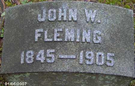 FLEMING, JOHN - Lycoming County, Pennsylvania   JOHN FLEMING - Pennsylvania Gravestone Photos