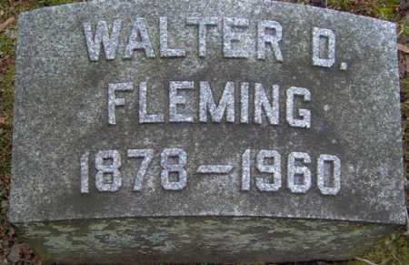 FLEMING, WALTER - Lycoming County, Pennsylvania | WALTER FLEMING - Pennsylvania Gravestone Photos