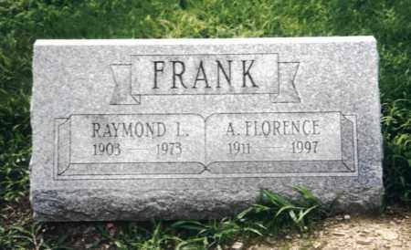 FRANK, A FLORENCE - Lycoming County, Pennsylvania | A FLORENCE FRANK - Pennsylvania Gravestone Photos
