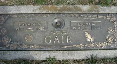 GAIR, LEONA - Lycoming County, Pennsylvania | LEONA GAIR - Pennsylvania Gravestone Photos