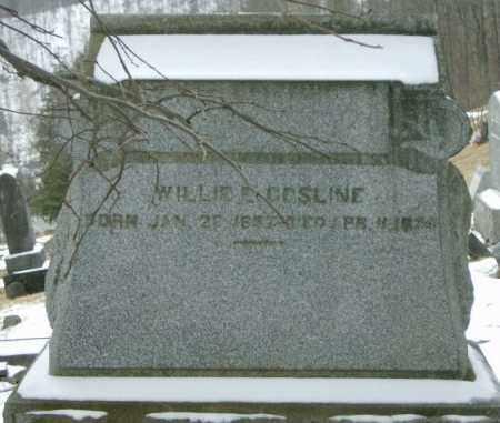 GOSLINE, WILLIE - Lycoming County, Pennsylvania   WILLIE GOSLINE - Pennsylvania Gravestone Photos