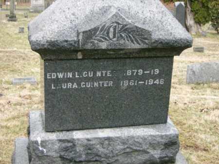 GUINTER, EDWIN - Lycoming County, Pennsylvania | EDWIN GUINTER - Pennsylvania Gravestone Photos