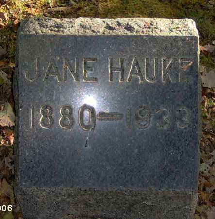 HAUKE, JANE - Lycoming County, Pennsylvania   JANE HAUKE - Pennsylvania Gravestone Photos