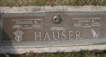 HAUSER, CHARLES - Lycoming County, Pennsylvania | CHARLES HAUSER - Pennsylvania Gravestone Photos