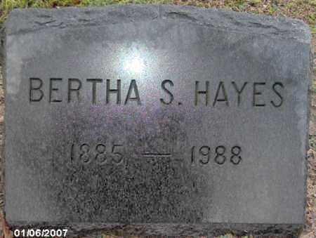 HAYES, BERTHA - Lycoming County, Pennsylvania | BERTHA HAYES - Pennsylvania Gravestone Photos