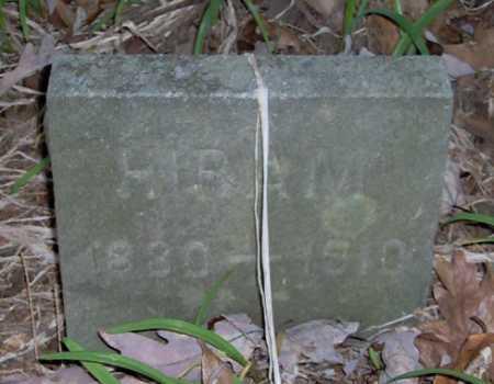 HENSLER, HIRAM - Lycoming County, Pennsylvania | HIRAM HENSLER - Pennsylvania Gravestone Photos