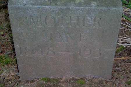 HENSLER, JANE - Lycoming County, Pennsylvania   JANE HENSLER - Pennsylvania Gravestone Photos