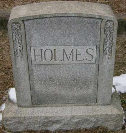 HOLMES, MONUMENT - Lycoming County, Pennsylvania   MONUMENT HOLMES - Pennsylvania Gravestone Photos
