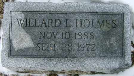 HOLMES, WILLARD - Lycoming County, Pennsylvania | WILLARD HOLMES - Pennsylvania Gravestone Photos