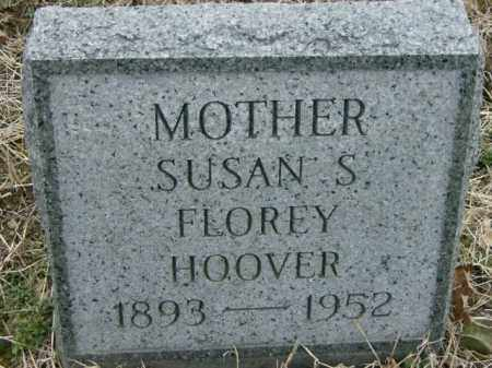 FLOREY HOOVER, SUSAN - Lycoming County, Pennsylvania | SUSAN FLOREY HOOVER - Pennsylvania Gravestone Photos