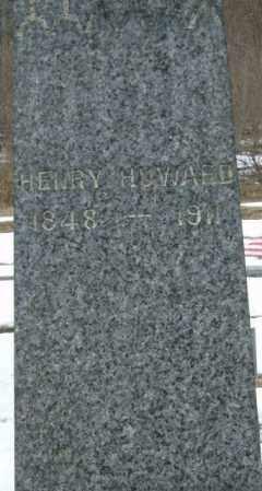 HOWARD, HENRY - Lycoming County, Pennsylvania   HENRY HOWARD - Pennsylvania Gravestone Photos
