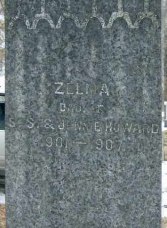 HOWARD, ZELMA - Lycoming County, Pennsylvania   ZELMA HOWARD - Pennsylvania Gravestone Photos