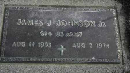 JOHNSON JR, JAMES J - Lycoming County, Pennsylvania   JAMES J JOHNSON JR - Pennsylvania Gravestone Photos