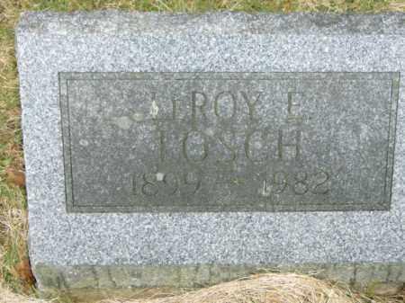 LOSCH, LEROY - Lycoming County, Pennsylvania | LEROY LOSCH - Pennsylvania Gravestone Photos