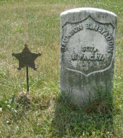 MCFADDIN, JACKSON - Lycoming County, Pennsylvania   JACKSON MCFADDIN - Pennsylvania Gravestone Photos