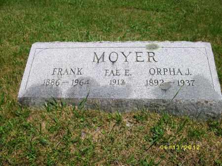 MOYER, FRANK - Lycoming County, Pennsylvania | FRANK MOYER - Pennsylvania Gravestone Photos