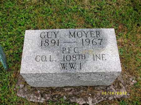 MOYER, GUY - Lycoming County, Pennsylvania | GUY MOYER - Pennsylvania Gravestone Photos