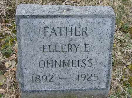OHNMEISS, ELLERY - Lycoming County, Pennsylvania | ELLERY OHNMEISS - Pennsylvania Gravestone Photos