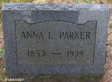 PARKER, ANNA - Lycoming County, Pennsylvania | ANNA PARKER - Pennsylvania Gravestone Photos