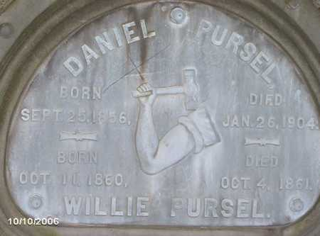 PURSEL, WILLIE - Lycoming County, Pennsylvania | WILLIE PURSEL - Pennsylvania Gravestone Photos