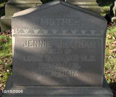 SCHNEIDER, JENNIE - Lycoming County, Pennsylvania | JENNIE SCHNEIDER - Pennsylvania Gravestone Photos