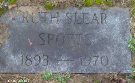 SPOTTS, RUTH - Lycoming County, Pennsylvania | RUTH SPOTTS - Pennsylvania Gravestone Photos