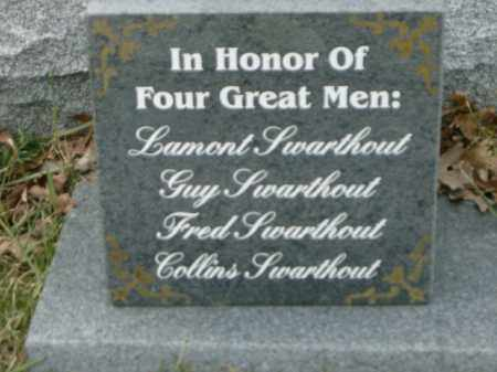 SWARTHOUT, GUY - Lycoming County, Pennsylvania | GUY SWARTHOUT - Pennsylvania Gravestone Photos