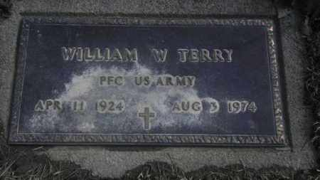 TERRY, WILLIAM W - Lycoming County, Pennsylvania | WILLIAM W TERRY - Pennsylvania Gravestone Photos