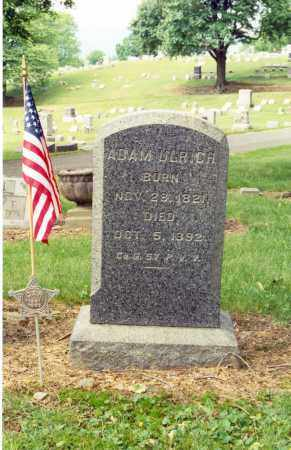 ULRICH (CW), ADAM - Lycoming County, Pennsylvania | ADAM ULRICH (CW) - Pennsylvania Gravestone Photos