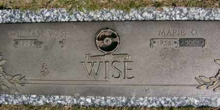 WISE, MARIE - Lycoming County, Pennsylvania | MARIE WISE - Pennsylvania Gravestone Photos