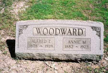 WOODWARD, ANNIE M - Lycoming County, Pennsylvania | ANNIE M WOODWARD - Pennsylvania Gravestone Photos