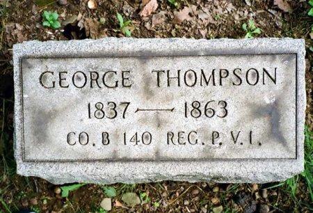 THOMPSON (CW), GEORGE - Mercer County, Pennsylvania | GEORGE THOMPSON (CW) - Pennsylvania Gravestone Photos