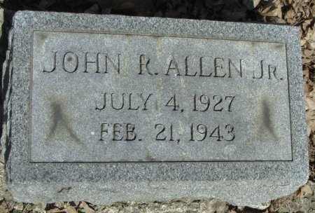 ALLEN, JOHN R. JR - Mifflin County, Pennsylvania | JOHN R. JR ALLEN - Pennsylvania Gravestone Photos